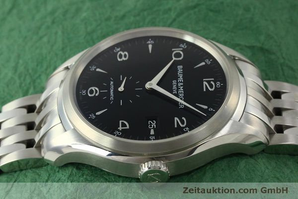 Used luxury watch Baume & Mercier Clifton steel automatic Kal. BM11260 Sellita SW260-1  | 151480 05
