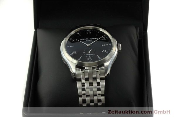 Used luxury watch Baume & Mercier Clifton steel automatic Kal. BM11260 Sellita SW260-1  | 151480 07