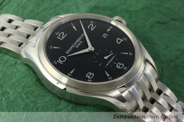 Used luxury watch Baume & Mercier Clifton steel automatic Kal. BM11260 Sellita SW260-1  | 151480 14