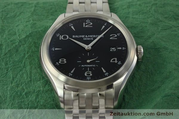 Used luxury watch Baume & Mercier Clifton steel automatic Kal. BM11260 Sellita SW260-1  | 151480 15