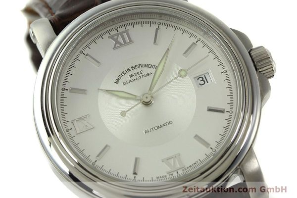 Used luxury watch Mühle Mercurius steel automatic Kal. SW200-1 Ref. M1-24-20  | 151481 02