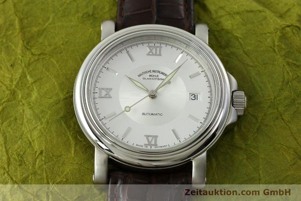 Used luxury watch Mühle Mercurius steel automatic Kal. SW200-1 Ref. M1-24-20  | 151481 16
