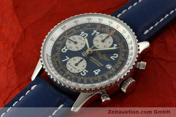 Used luxury watch Breitling Navitimer chronograph steel automatic Kal. B13 ETA 7750 Ref. A13022  | 151482 01