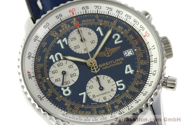Used luxury watch Breitling Navitimer chronograph steel automatic Kal. B13 ETA 7750 Ref. A13022  | 151482 02