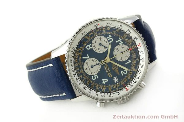 Used luxury watch Breitling Navitimer chronograph steel automatic Kal. B13 ETA 7750 Ref. A13022  | 151482 03