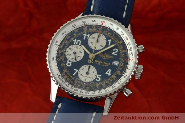 Used luxury watch Breitling Navitimer chronograph steel automatic Kal. B13 ETA 7750 Ref. A13022  | 151482 04