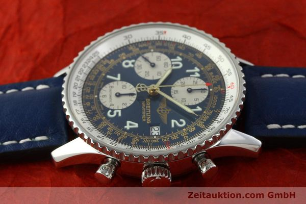 Used luxury watch Breitling Navitimer chronograph steel automatic Kal. B13 ETA 7750 Ref. A13022  | 151482 05