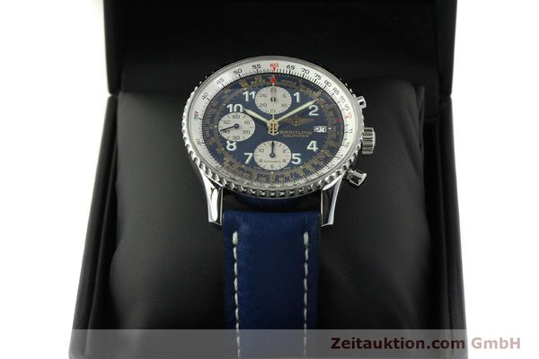 Used luxury watch Breitling Navitimer chronograph steel automatic Kal. B13 ETA 7750 Ref. A13022  | 151482 07
