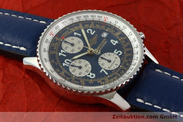 Used luxury watch Breitling Navitimer chronograph steel automatic Kal. B13 ETA 7750 Ref. A13022  | 151482 14