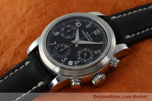 Used luxury watch Girard Perregaux * chronograph steel automatic Kal. 2280-731 Ref. 8021  | 151487 01