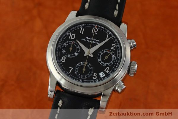 Used luxury watch Girard Perregaux * chronograph steel automatic Kal. 2280-731 Ref. 8021  | 151487 04