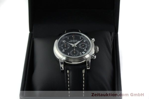 Used luxury watch Girard Perregaux * chronograph steel automatic Kal. 2280-731 Ref. 8021  | 151487 07