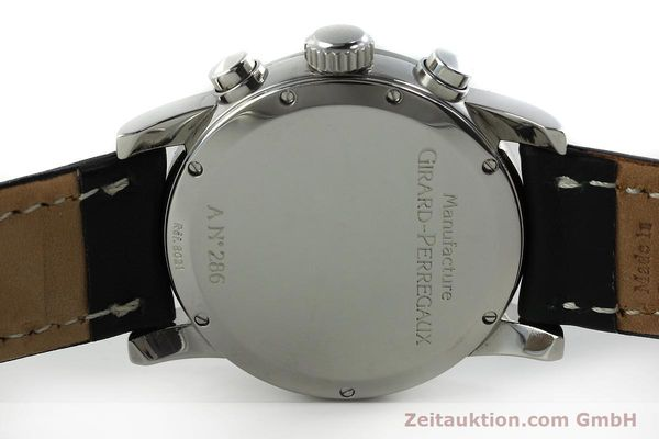 Used luxury watch Girard Perregaux * chronograph steel automatic Kal. 2280-731 Ref. 8021  | 151487 09