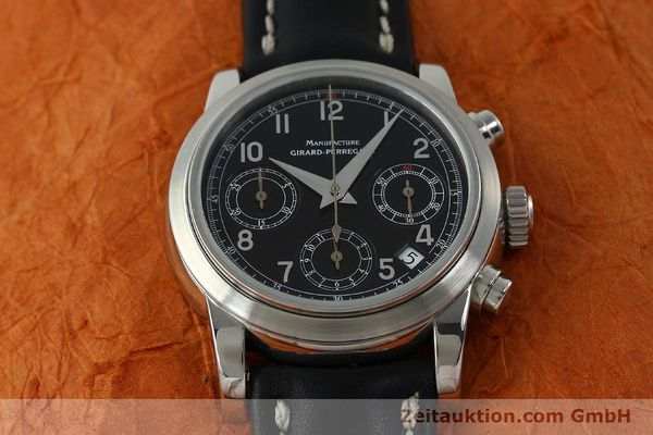 Used luxury watch Girard Perregaux * chronograph steel automatic Kal. 2280-731 Ref. 8021  | 151487 14