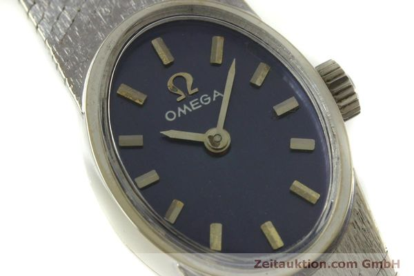 Used luxury watch Omega * 14 ct white gold manual winding Kal. 485  | 151489 02