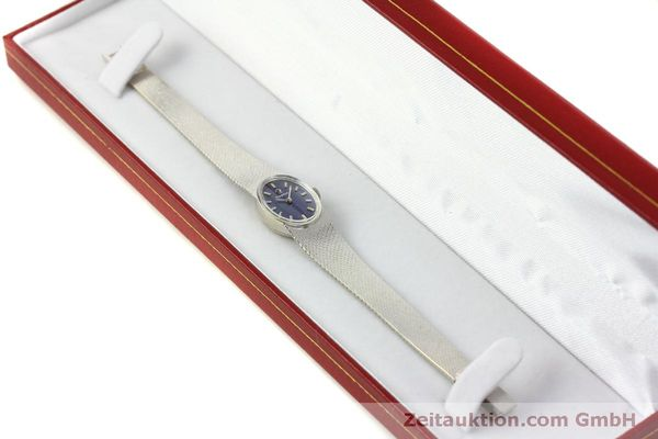 Used luxury watch Omega * 14 ct white gold manual winding Kal. 485  | 151489 07