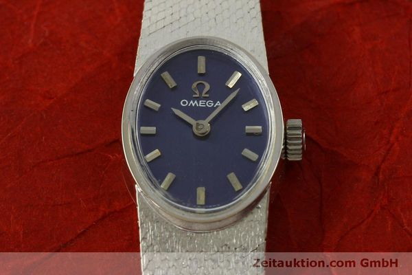 Used luxury watch Omega * 14 ct white gold manual winding Kal. 485  | 151489 16