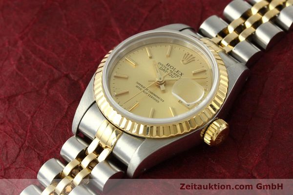 montre de luxe d occasion Rolex Lady Datejust acier / or  automatique Kal. 2135 Ref. 69173  | 151493 01