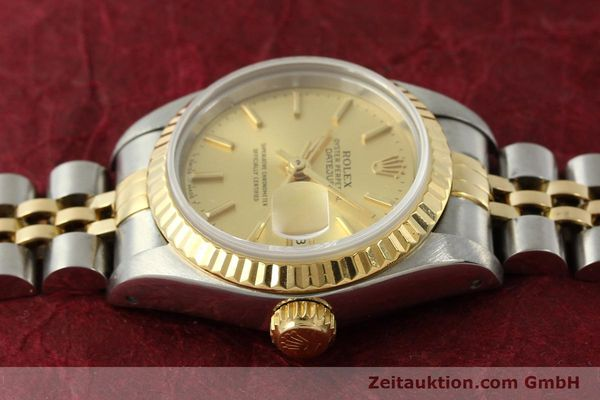 montre de luxe d occasion Rolex Lady Datejust acier / or  automatique Kal. 2135 Ref. 69173  | 151493 05