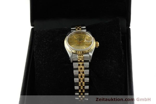 Used luxury watch Rolex Lady Datejust steel / gold automatic Kal. 2135 Ref. 69173  | 151493 07