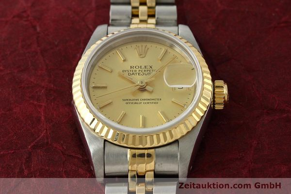 montre de luxe d occasion Rolex Lady Datejust acier / or  automatique Kal. 2135 Ref. 69173  | 151493 15