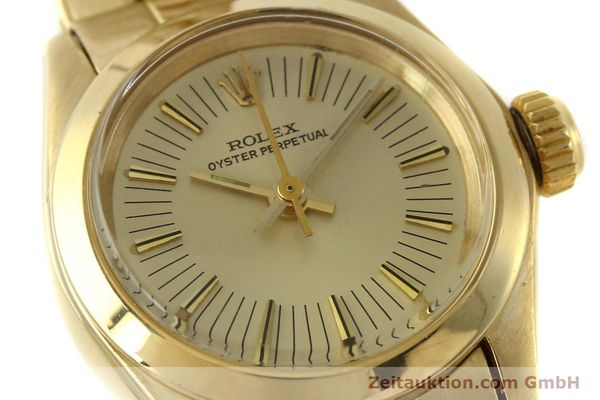 Used luxury watch Rolex Oyster Perpetual 18 ct gold automatic Kal. 2030 Ref. 6718  | 151502 02