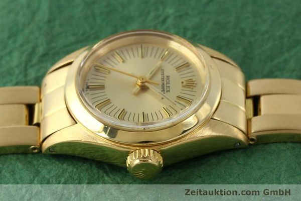 Used luxury watch Rolex Oyster Perpetual 18 ct gold automatic Kal. 2030 Ref. 6718  | 151502 05