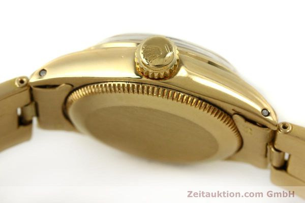 Used luxury watch Rolex Oyster Perpetual 18 ct gold automatic Kal. 2030 Ref. 6718  | 151502 11