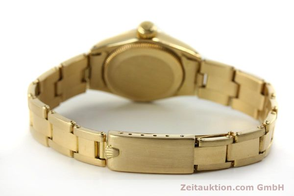 Used luxury watch Rolex Oyster Perpetual 18 ct gold automatic Kal. 2030 Ref. 6718  | 151502 12
