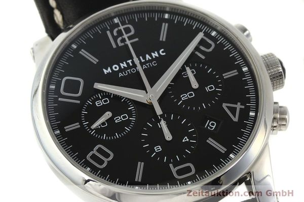 Used luxury watch Montblanc Timewalker chronograph steel automatic Kal. 4810502 Ref. 7069  | 151507 02