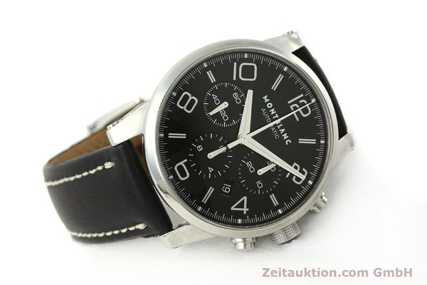 Used luxury watch Montblanc Timewalker chronograph steel automatic Kal. 4810502 Ref. 7069  | 151507 03