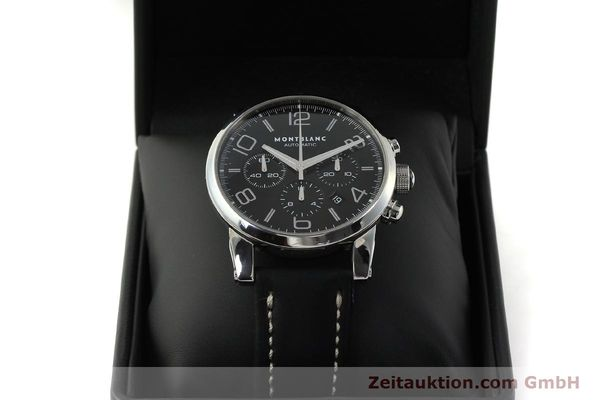 Used luxury watch Montblanc Timewalker chronograph steel automatic Kal. 4810502 Ref. 7069  | 151507 07