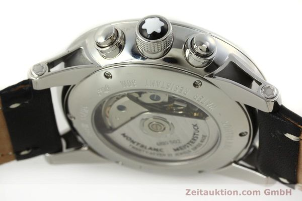 Used luxury watch Montblanc Timewalker chronograph steel automatic Kal. 4810502 Ref. 7069  | 151507 08