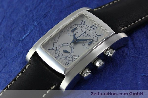 Used luxury watch Longines Dolce Vita chronograph steel quartz Kal. L.538.2 ETA 251.471  | 151509 01