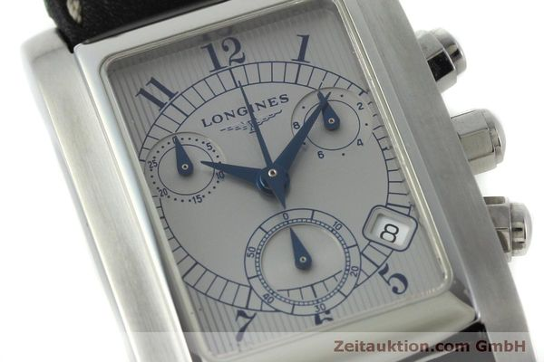 Used luxury watch Longines Dolce Vita chronograph steel quartz Kal. L.538.2 ETA 251.471  | 151509 02