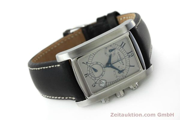 Used luxury watch Longines Dolce Vita chronograph steel quartz Kal. L.538.2 ETA 251.471  | 151509 03