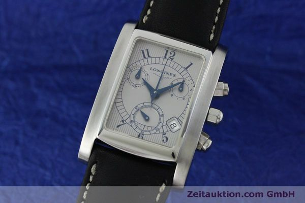Used luxury watch Longines Dolce Vita chronograph steel quartz Kal. L.538.2 ETA 251.471  | 151509 04