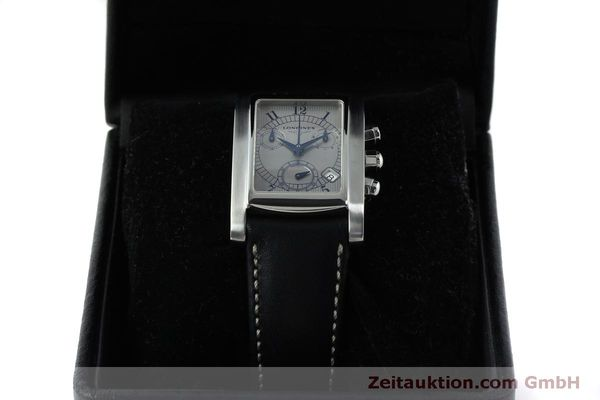 Used luxury watch Longines Dolce Vita chronograph steel quartz Kal. L.538.2 ETA 251.471  | 151509 07