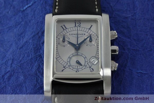 Used luxury watch Longines Dolce Vita chronograph steel quartz Kal. L.538.2 ETA 251.471  | 151509 12