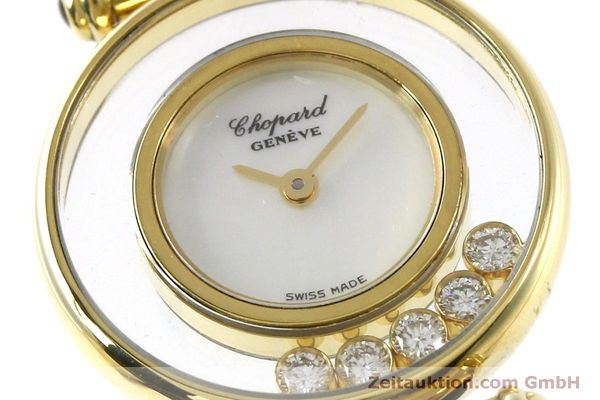 gebrauchte Luxusuhr Chopard Happy Diamonds 18k Gold Quarz Ref. 20/4780  | 151511 02