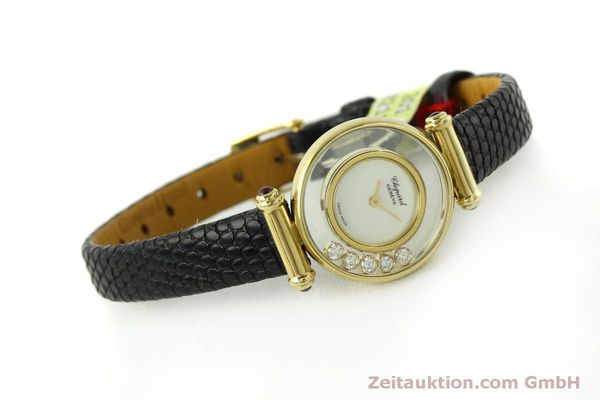 gebrauchte Luxusuhr Chopard Happy Diamonds 18k Gold Quarz Ref. 20/4780  | 151511 03