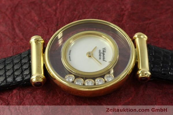 gebrauchte Luxusuhr Chopard Happy Diamonds 18k Gold Quarz Ref. 20/4780  | 151511 05