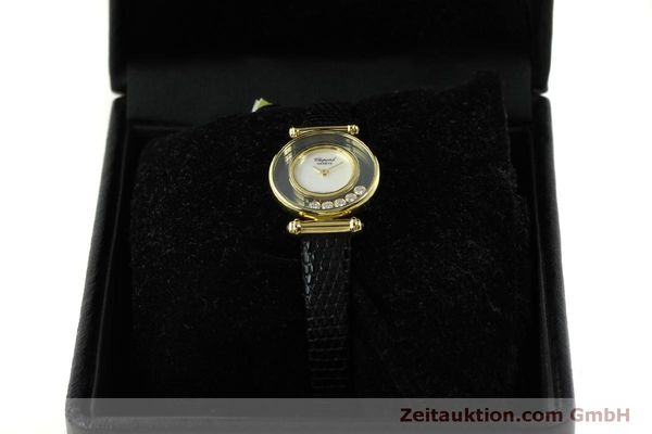 gebrauchte Luxusuhr Chopard Happy Diamonds 18k Gold Quarz Ref. 20/4780  | 151511 07
