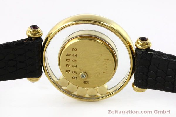 gebrauchte Luxusuhr Chopard Happy Diamonds 18k Gold Quarz Ref. 20/4780  | 151511 08