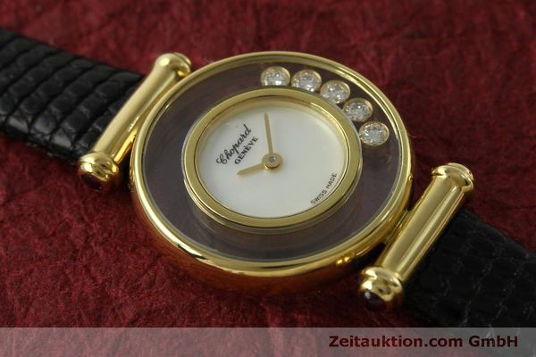 gebrauchte Luxusuhr Chopard Happy Diamonds 18k Gold Quarz Ref. 20/4780  | 151511 11