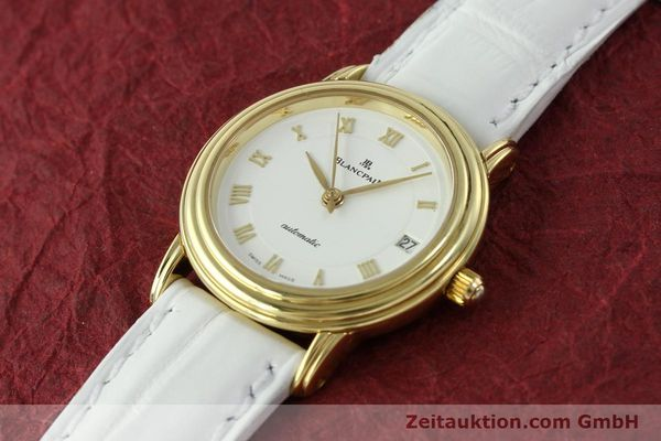 montre de luxe d occasion Blancpain Villeret or 18 ct automatique Kal. 951  | 151512 01
