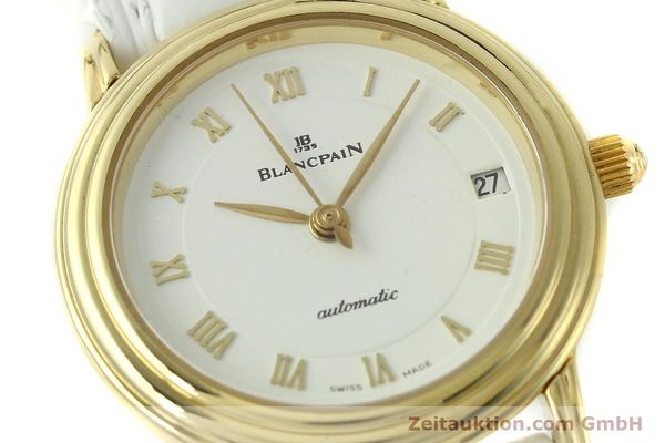 Used luxury watch Blancpain Villeret 18 ct gold automatic Kal. 951  | 151512 02