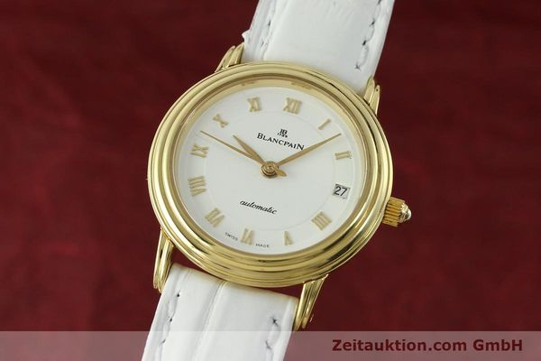 Used luxury watch Blancpain Villeret 18 ct gold automatic Kal. 951  | 151512 04