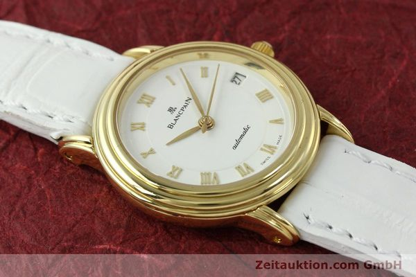 Used luxury watch Blancpain Villeret 18 ct gold automatic Kal. 951  | 151512 15