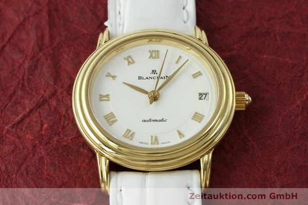 Used luxury watch Blancpain Villeret 18 ct gold automatic Kal. 951  | 151512 16